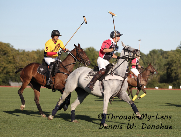 Polo action from Saratoga Polo Club
